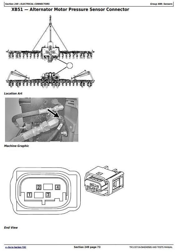 TM123719 - John Deere 1775NT (SN.-760100) 24-Row Planter w.ExactEmerge Row Units Diagnostic Manual - 1