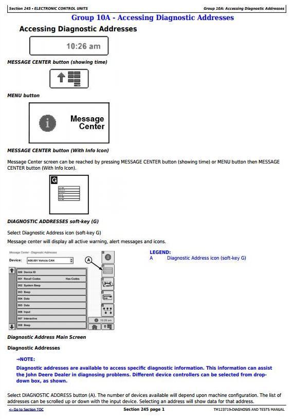 TM123719 - John Deere 1775NT (SN.-760100) 24-Row Planter w.ExactEmerge Row Units Diagnostic Manual - 2