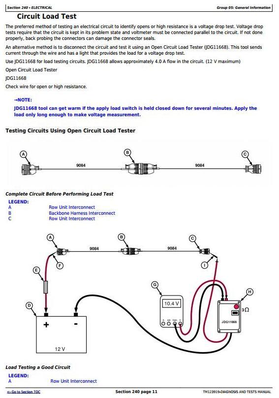 TM123919 - John Deere DB Series Planters w.Electric Drive&Frame Control Console Diagnostic Manual - 3