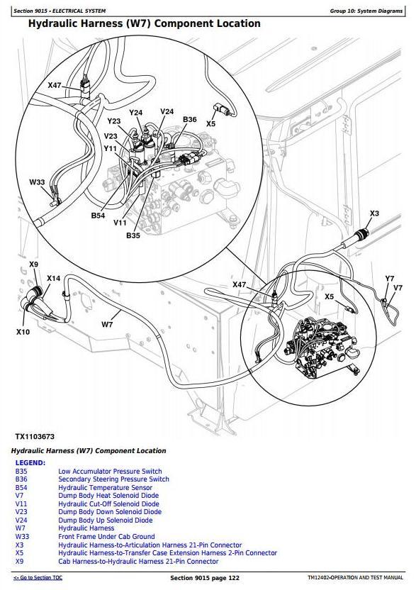 TM12402 - John Deere 250D Series II, 300D Series II ADT 1DW250D2__E642001- (iT4/S3B) Operation and Test Manual - 2