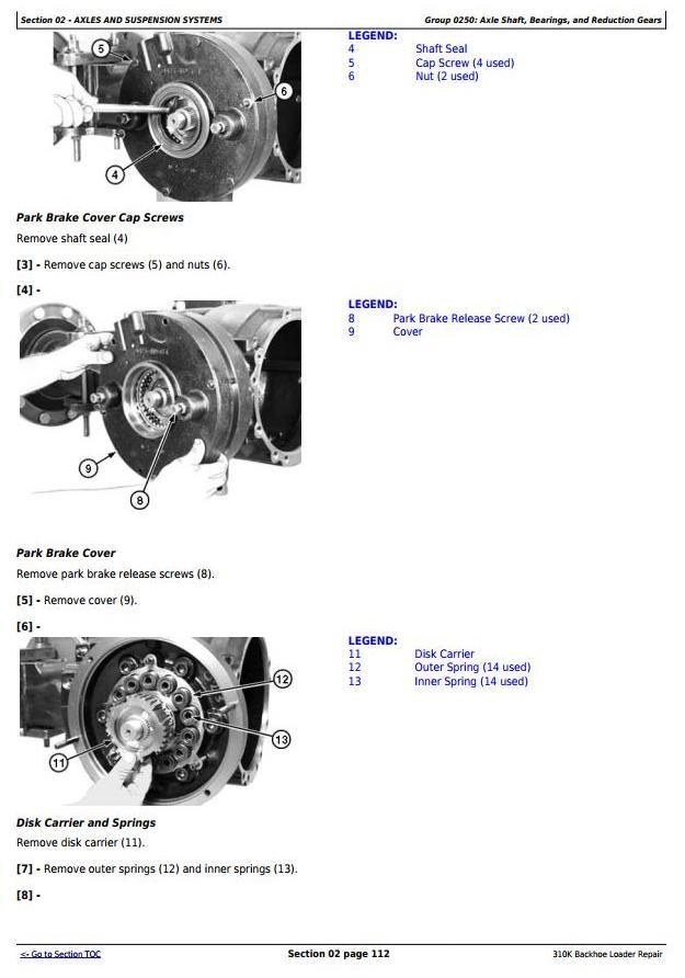 TM12436 - John Deere 310K (iT4/S3B) Backhoe Loader (SN: E219607-) Service Repair Technical Manual - 1