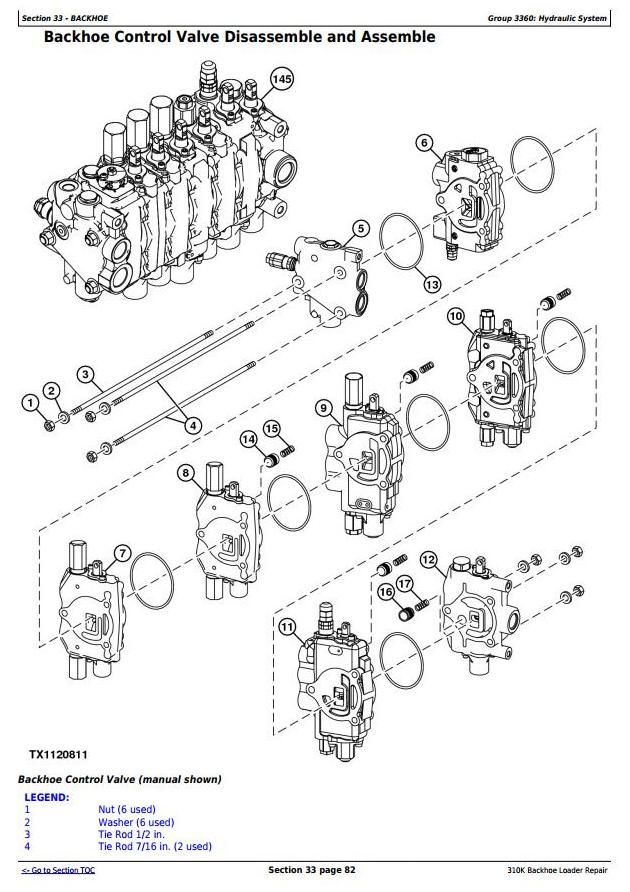 TM12436 - John Deere 310K (iT4/S3B) Backhoe Loader (SN: E219607-) Service Repair Technical Manual - 3