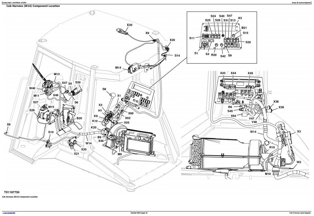 TM12441 - John Deere 310K EP Backhoe Loader (SN: G219607-) Diagnostic, Operation&Test Service Manual - 1