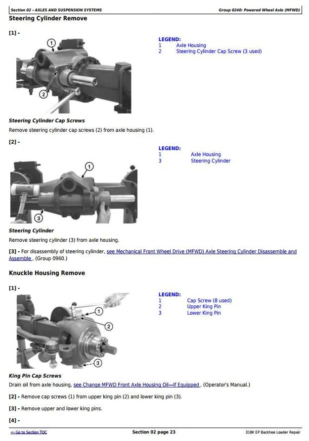TM12442 - John Deere 310K EP (iT4/S3A) Backhoe Loader (SN: G219607-) Service Repair Technical Manual - 1