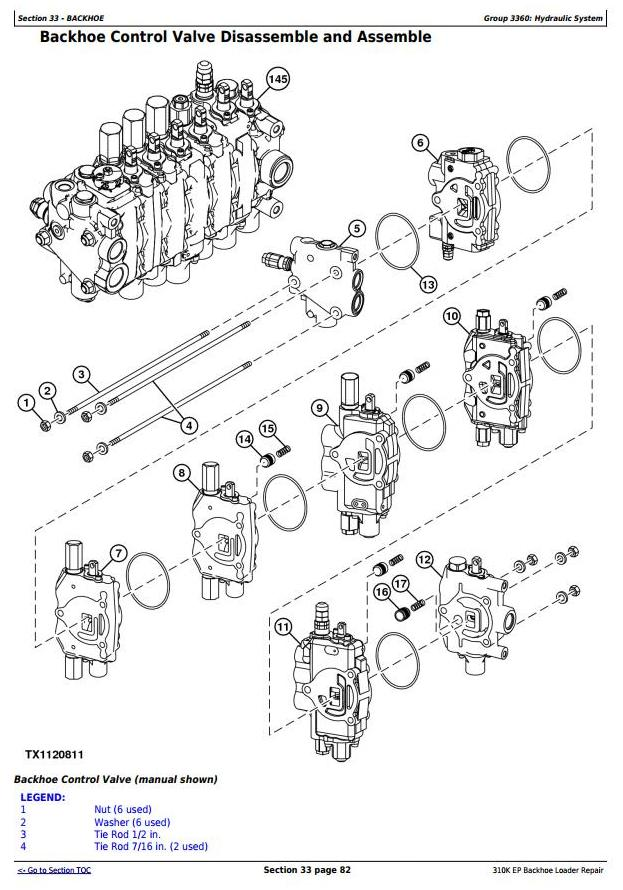 TM12442 - John Deere 310K EP (iT4/S3A) Backhoe Loader (SN: G219607-) Service Repair Technical Manual - 3
