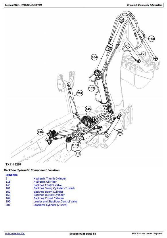 TM12447 - John Deere 310K Backhoe Loader (SN.from D219707;C219607) Diagnostic and Test Service Manual - 2