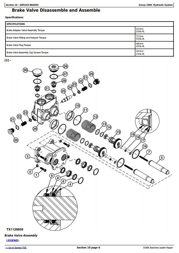 TM12460 - John Deere 310SK (iT4/S3B) Backhoe Loader (SN: E219607-) Service Repair Technical Manual - 3