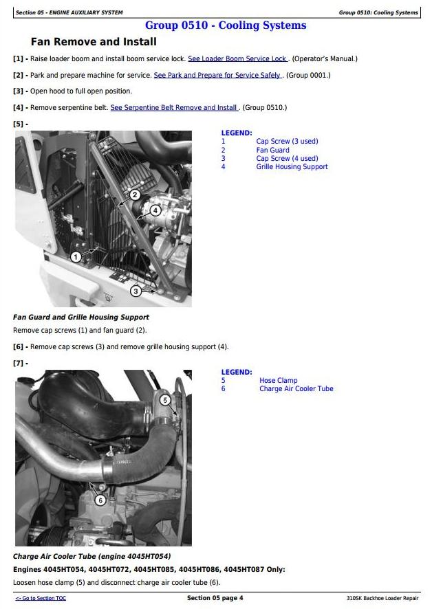 TM12466 - John Deere 310SK (T3/S3A) Backhoe Loader (SN: D219607-) Service Repair Technical Manual - 2