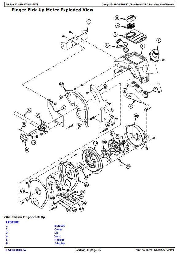TM124719 - John Deere 1700, 1710, 1720, 1730, 1750, 1780 Planters (SN. 740101-) Service Repair Manual - 2