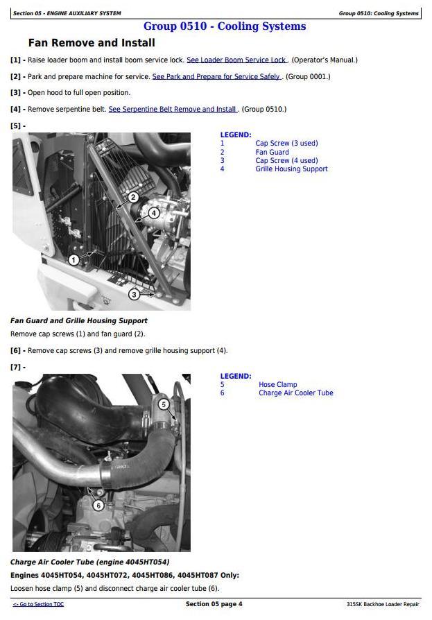 TM12472 - John Deere 315SK (T3/S3A) Backhoe Loader (SN: D229820-) Service Repair Technical Manual - 2