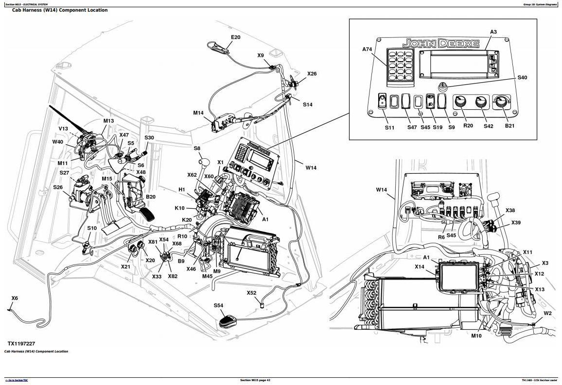 TM12483 - John Deere 325K (T2/S2) Backhoe Loader (SN:C219607-C234969) Diagnostic&Test Service Manual - 1