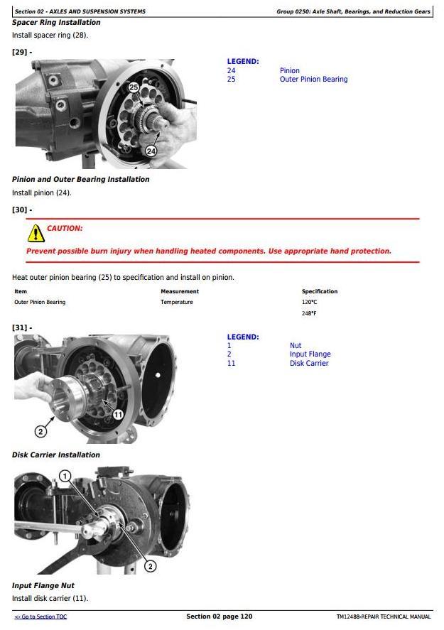 TM12488 - John Deere 310SK TC, 410K TC Backhoe Loaders w.TMC (iT4/S3B) Service RepairTechnical Manual - 1