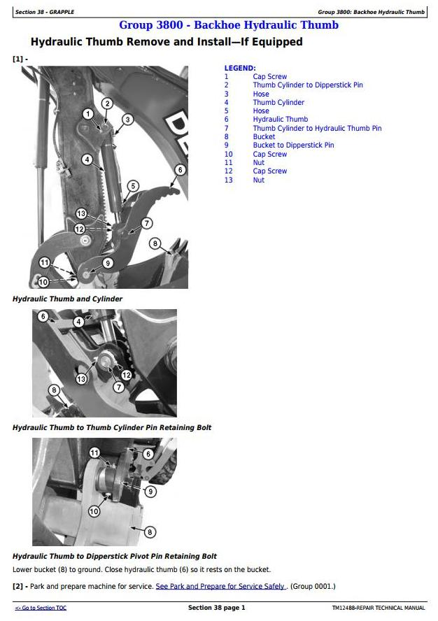 TM12488 - John Deere 310SK TC, 410K TC Backhoe Loaders w.TMC (iT4/S3B) Service RepairTechnical Manual - 3
