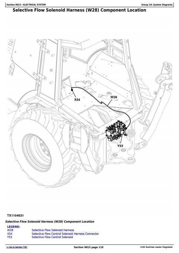 TM12499 - John Deere 410K (T3/S3A) Backhoe Loader (SN from 219607) , Diagnostic & Test Service Manual - 1