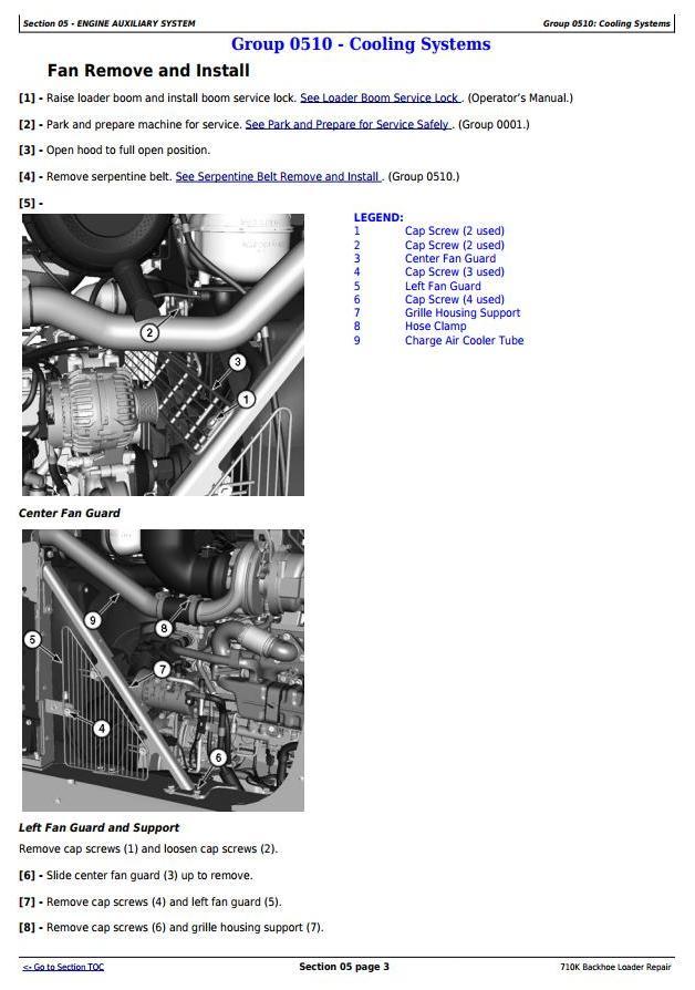 TM12506 - John Deere 710K (iT4/S3B) Backhoe Loader (SN. From 219607) Service Repair Technical Manual - 2