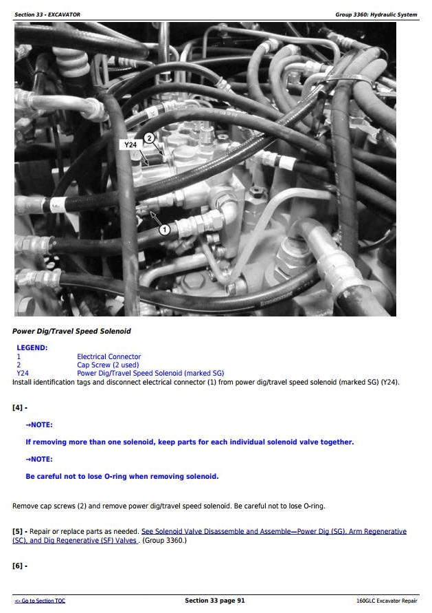 TM12551 - John Deere 160GLC (PIN: 1FF160GX__D055001-) T3/S3A Excavator Service Repair Manual - 3