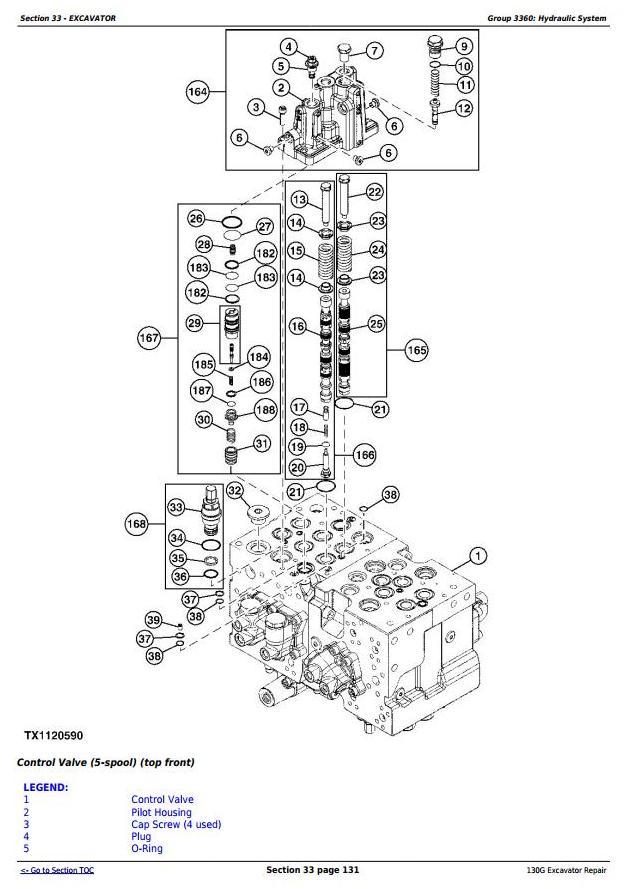 TM12557 - John Deere 130G (T3/S3a) Excavator (S.N. 1FF130GX_D040001 -) Service Repair Manual - 2