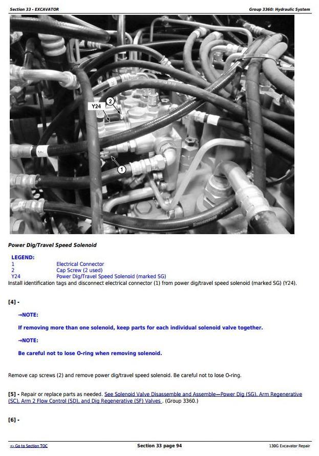 TM12557 - John Deere 130G (T3/S3a) Excavator (S.N. 1FF130GX_D040001 -) Service Repair Manual - 3