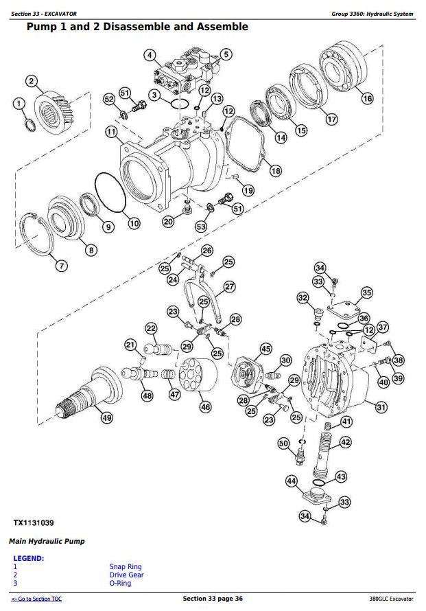 TM12575 - John Deere 380GLC (PIN:1FF380GX__D900001) T3/S3A Excavator Service Repair Technical Manual - 2
