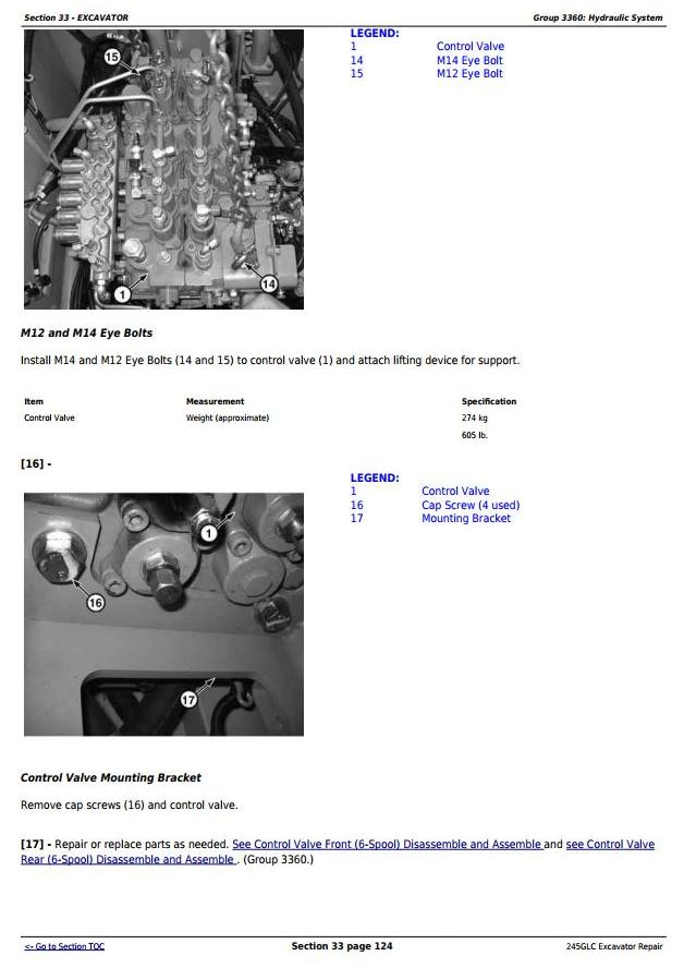 TM12663 - John Deere 245GLC iT4 Excavator Service Repair Technical Manual - 3