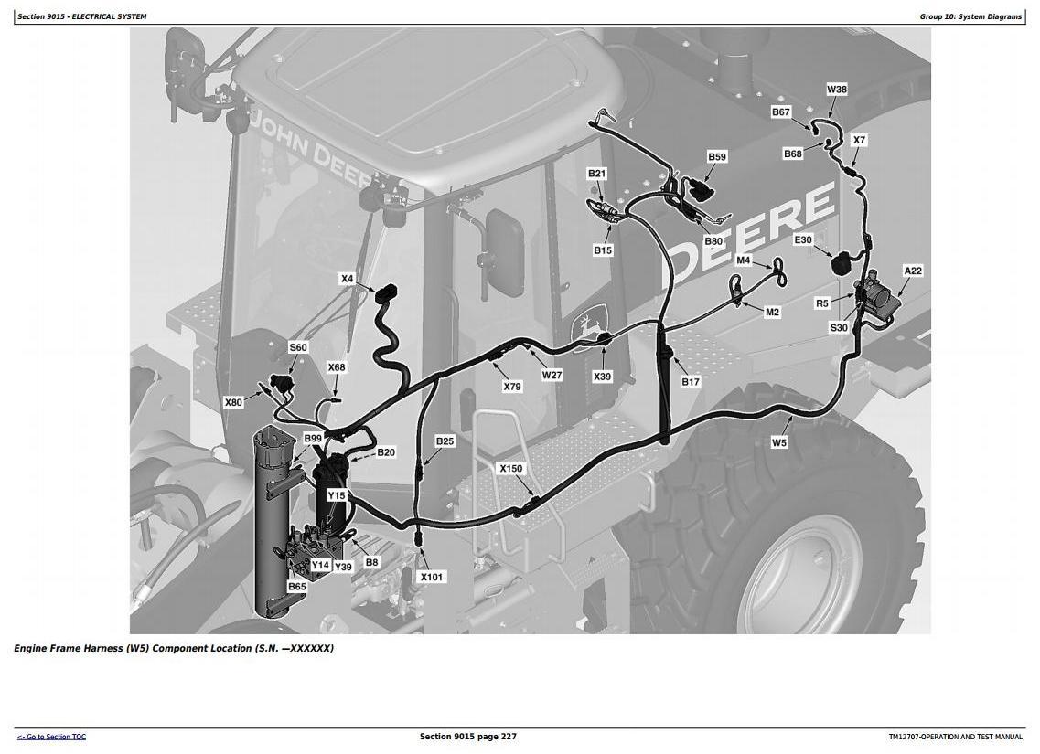 TM12707 - John Deere 644K Hybrid 4WD Loader (SN.E651322-) Diagnostic Operation & Test Service Manual - 1