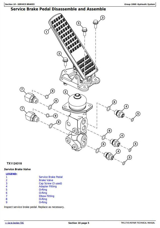 TM12745 - John Deere WL56 4WD Loader with T2/S2 Engines Service Repair Technical Manual - 3