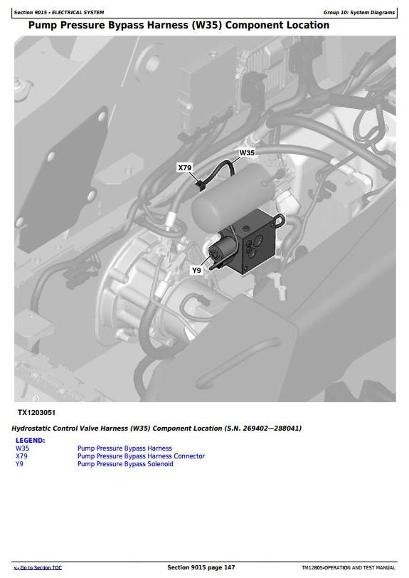 TM12805 - John Deere 329E, 333E Compact Track Loaders with IT4/S3B engines Diagnostic Service Manual - 1