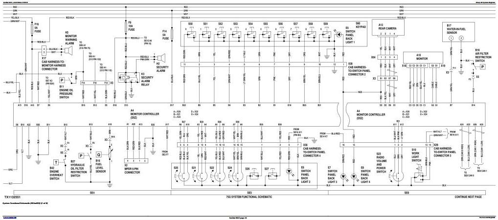 TM12873 - John Deere 75G FT4 Excavator Diagnostic, Operation and Test Service Manual - 1