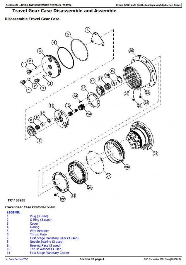 TM12882 - John Deere 60G (SN.J285001—) Compact Excavator Service Repair Technical Manual - 1