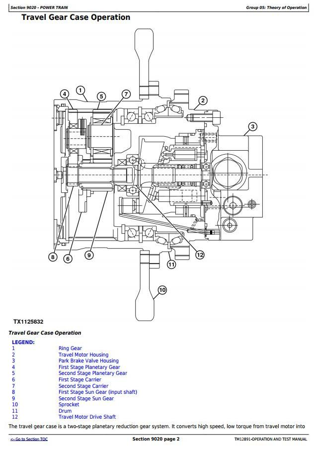 TM12891 - John Deere 35G (SN.K270001—) Compact Excavator Diagnostic, Operation & Test Service Manual - 1