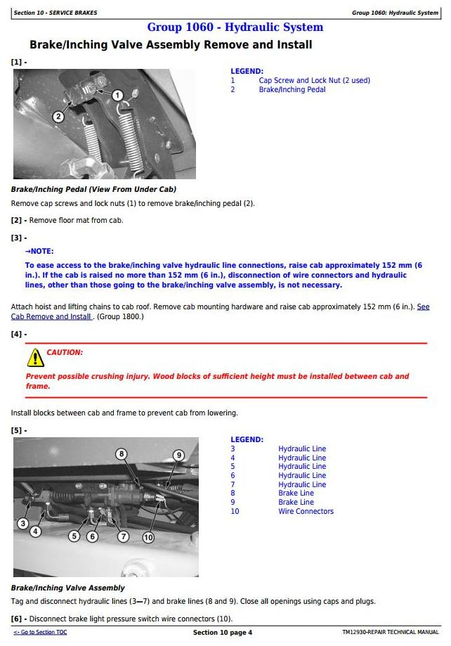 TM12930 - John Deere 344K (SN. from B030077) iT4 4WD Loader Service Repair Technical Manual - 3