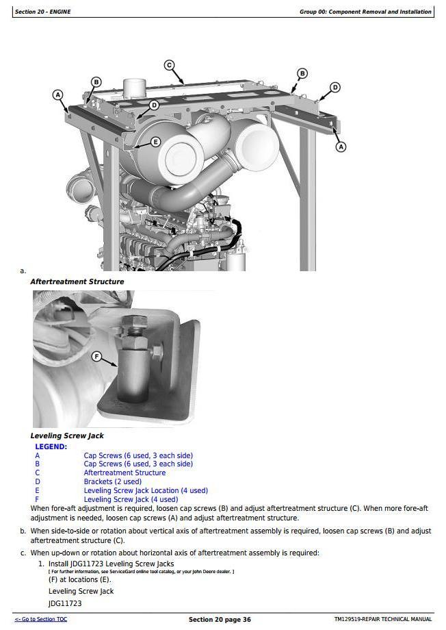 TM11517 - John Deere 250D Series II, 300D Series II ADT ( -642000) (T3/S3A) Repair Technical Manual - 1