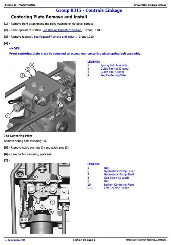 TM13010X19 - John Deere 318E 319E 320E 323E Skid Steer & Compact Track Loader (Man.Ctrl) Repair Manual - 3