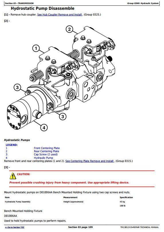 TM13012X19 - John Deere 318E 319E 320E 323E Skid Steer & Compact Track Loader (Man.Ctrl) Repair Manual - 3