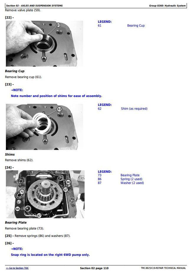 TM13025X19 - John Deere 670G, 670GP, 672G, 672GP (SN.F656526—678817) Motor Grader Service Repair Manual - 2