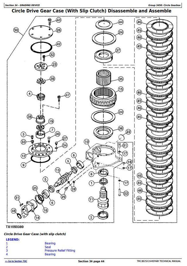 TM13025X19 - John Deere 670G, 670GP, 672G, 672GP (SN.F656526—678817) Motor Grader Service Repair Manual - 3