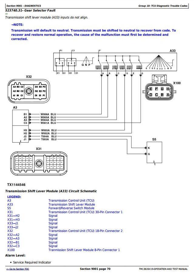 TM13026X19 - John Deere 770G, 770GP, 772G, 772GP (SN.F656526-678817) Grader Diagnostic Service Manual - 1