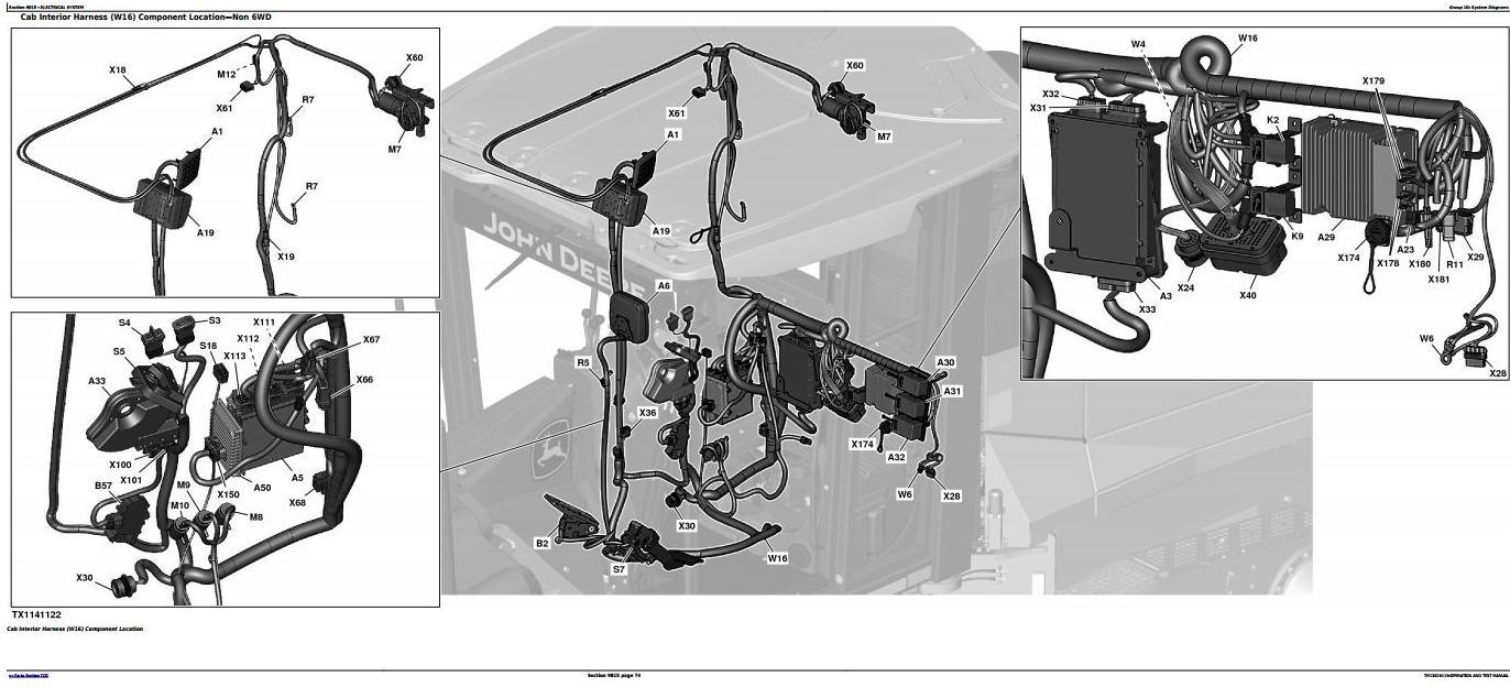 TM13026X19 - John Deere 770G, 770GP, 772G, 772GP (SN.F656526-678817) Grader Diagnostic Service Manual - 2
