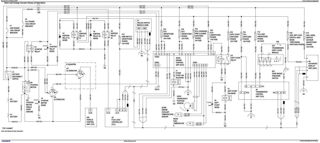 TM13028X19 - John Deere 870G, 870GP, 872G, 872GP (SN.F656526-678817) Grader Diagnostic Service Manual - 2