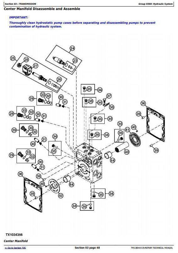 TM13044X19 - John Deere 326E (SN. J247388-) Skid Steer Loader with EH Controls Service Repair Manual - 1