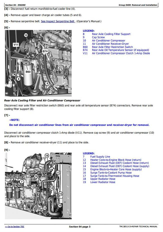 TM13051X19 - John Deere 4WD Loader 624K (SN.F658065-677548) Service Repair Technical Manual - 2