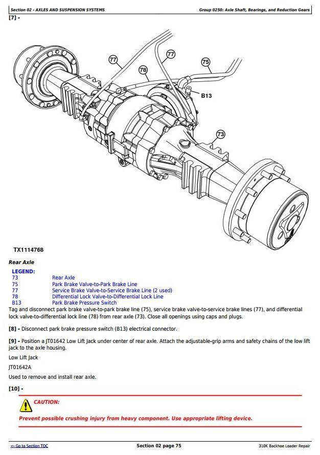TM13057X19 - John Deere 310K (T2/S2) Backhoe Loader (SN: C000001-) Service Repair Technical Manual - 2