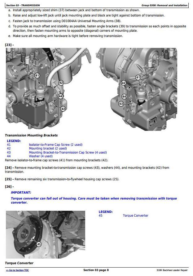 TM13057X19 - John Deere 310K (T2/S2) Backhoe Loader (SN: C000001-) Service Repair Technical Manual - 3