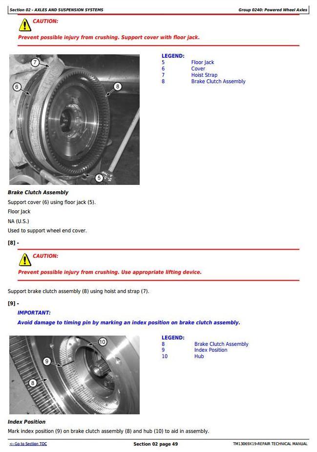 TM13069X19 - John Deere 770G, 770GP, 772G, 772GP (SN.656729-678817) Motor Grader Service Repair Manual - 1