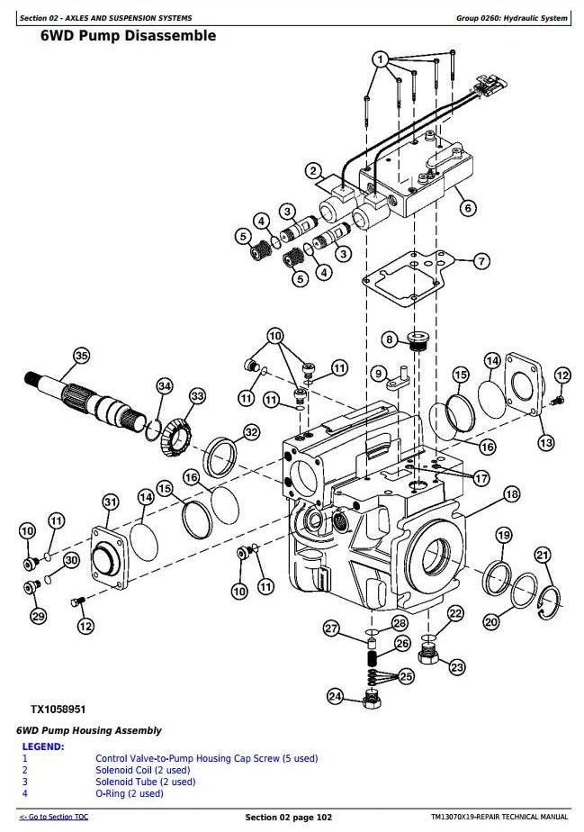 TM13070X19 - John Deere 870G, 870GP, 872G, 872GP (SN.656729-678817) Motor Grader Service Repair Manual - 2