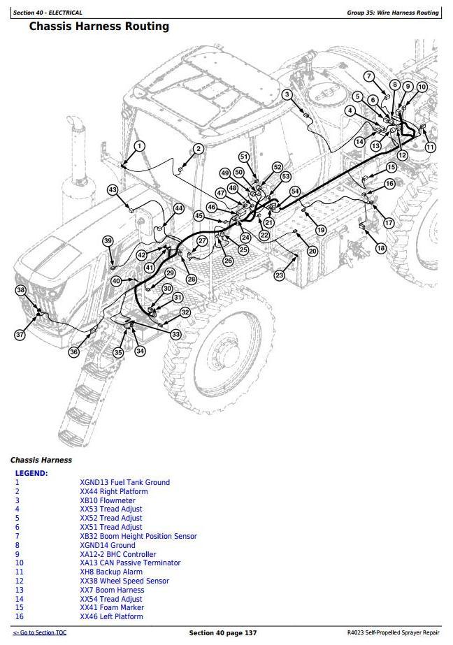 TM130919 - John Deere R4023 Self-Propelled Sprayers Service Repair Technical Manual - 1