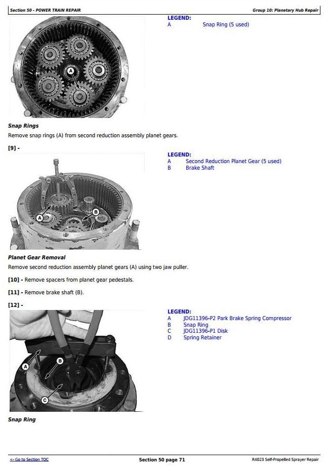 TM130919 - John Deere R4023 Self-Propelled Sprayers Service Repair Technical Manual - 2