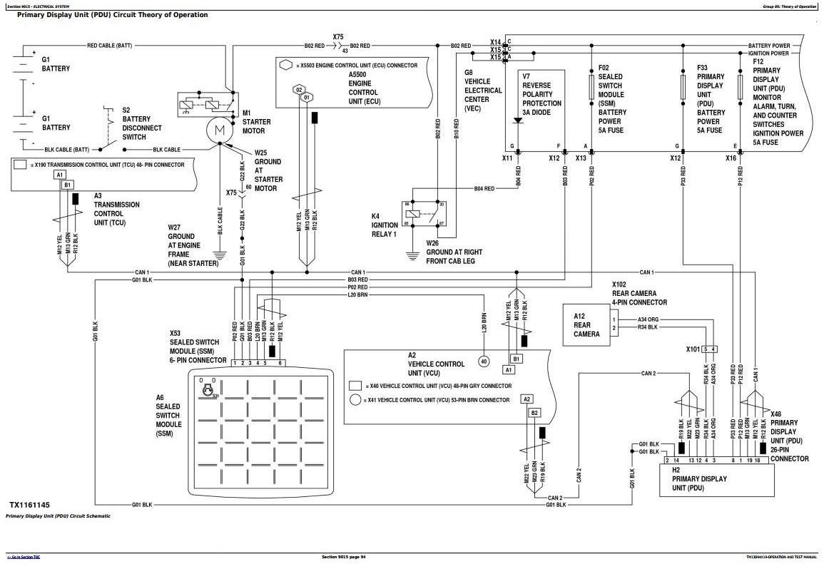 TM13094X19 - John Deere 944K Hybrid 4WD Loader (SN. from E669456) Diagnostic and Test Service Manual - 1