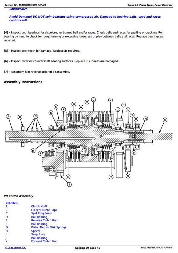 TM131019 - John Deere 4044M, 4044R, 4049M, 4049R, 4052M, 4052R, 4066M, 4066R Tractors Diagnostic and Repair Manual - 1