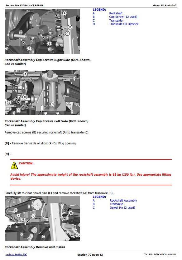 TM131019 - John Deere 4044M, 4044R, 4049M, 4049R, 4052M, 4052R, 4066M, 4066R Tractors Diagnostic and Repair Manual - 2